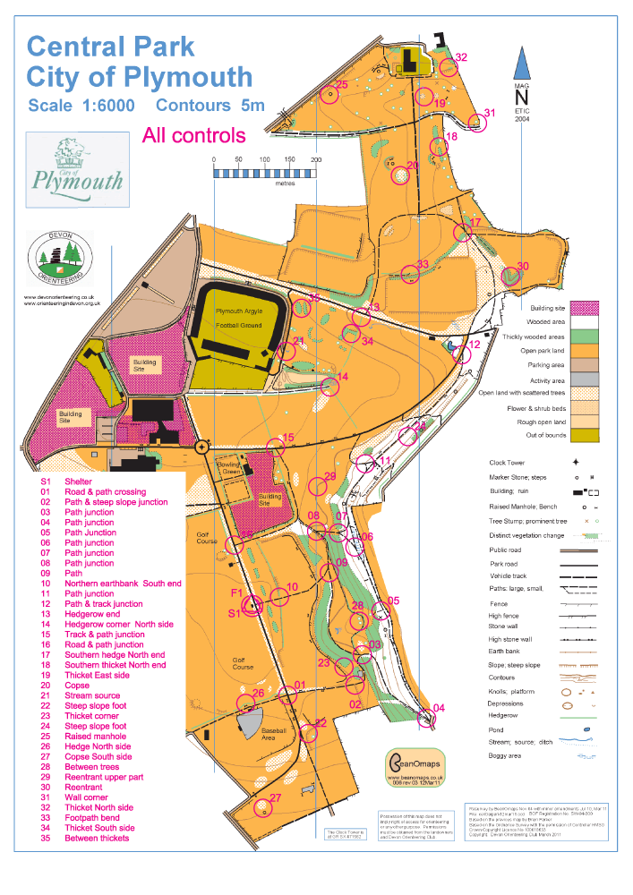 plymouth cp poc map